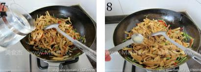 香辣豆腐皮的简单做法