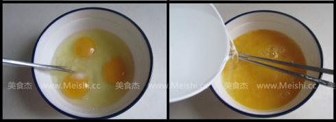 龙利鱼柳蒸蛋的做法图解