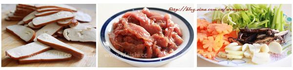 芹菜香干炒肉片的做法大全
