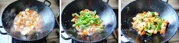 清炒胡萝卜杏鲍菇的做法图解