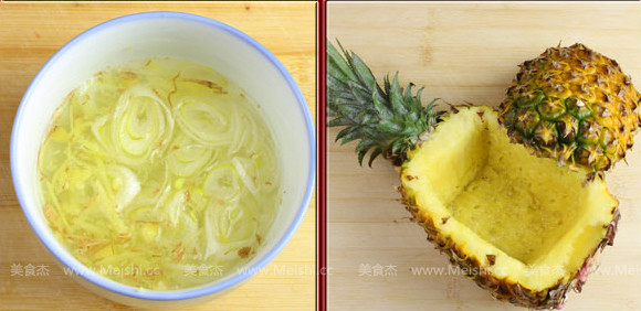 菠萝船古老肉的做法图解