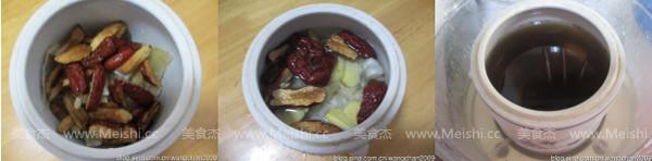 冰糖红枣炖花胶的做法图解