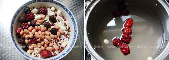 木瓜腊八粥的做法大全