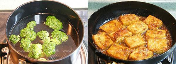 姜汁铁板豆腐怎么吃