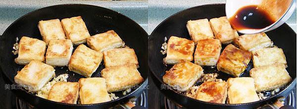 姜汁铁板豆腐的家常做法