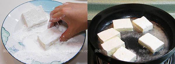 姜汁铁板豆腐的做法大全