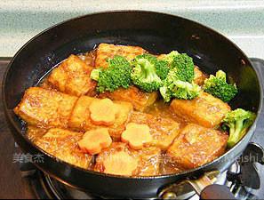 姜汁铁板豆腐怎么做