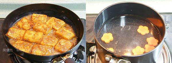姜汁铁板豆腐的简单做法
