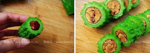 红枣酿苦瓜的简单做法