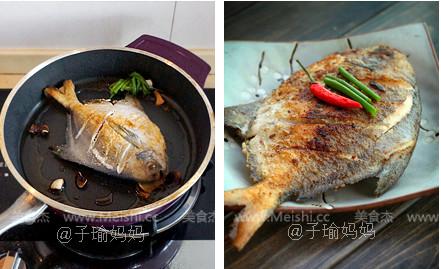 干煎椒盐鲳鱼的家常做法