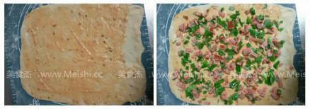 玫瑰花卷料理餐包的做法图解