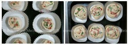 玫瑰花卷料理餐包的简单做法