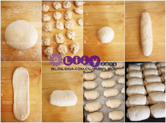 牛奶面包卷的做法大全