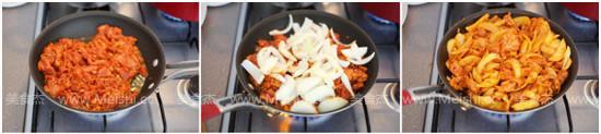 韩式辣炒猪肉的做法图解