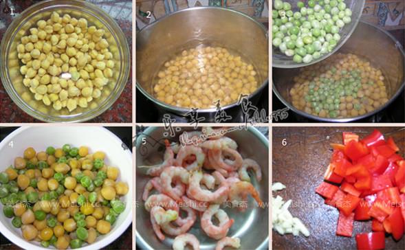豌豆北极虾的做法大全