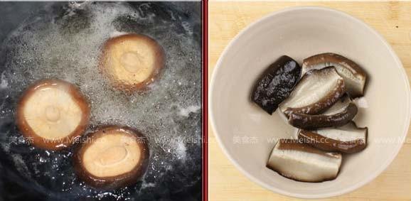 北菇烧豆腐的做法图解