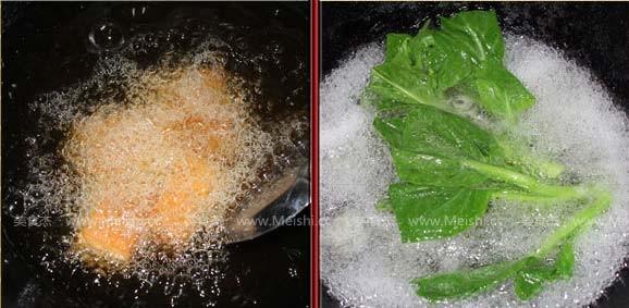 北菇烧豆腐的家常做法