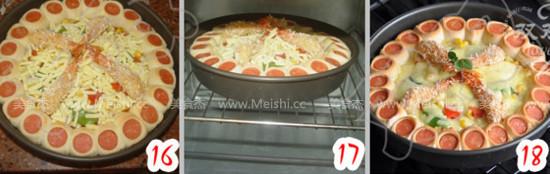 香酥虾花边披萨怎么煮