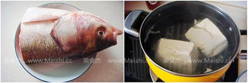 铁锅鱼头炖豆腐的做法大全