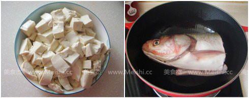 铁锅鱼头炖豆腐的做法图解