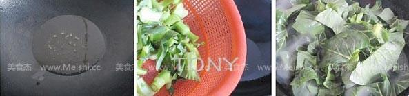 炒青菜的做法图解