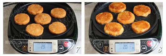 泡菜土豆饼的简单做法