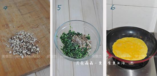 马兰核桃鸡蛋卷的做法图解