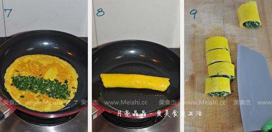 马兰核桃鸡蛋卷的家常做法
