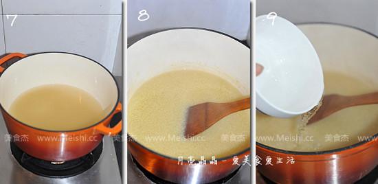 小米红枣燕窝粥的家常做法