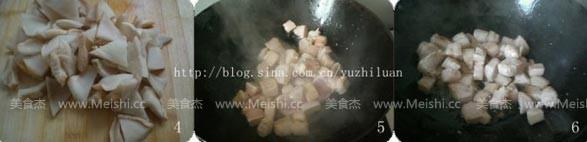 萝卜干黄豆烧肉的做法图解