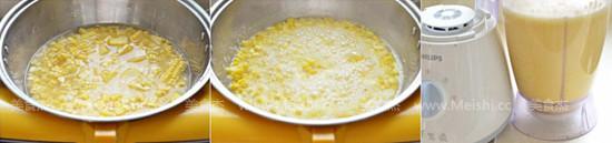 奶香玉米汁的做法图解