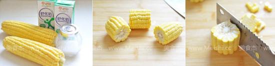 奶香玉米汁的做法大全