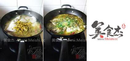 酸菜海鲈鱼怎么吃