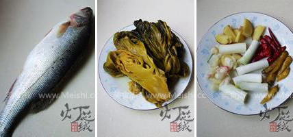 酸菜海鲈鱼的做法大全