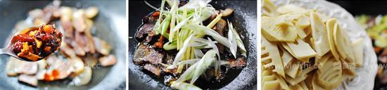 春笋炒腊肉的家常做法