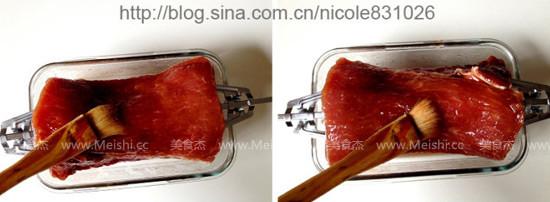 蜜汁叉烧肉的家常做法