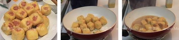 油豆腐塞肉的家常做法