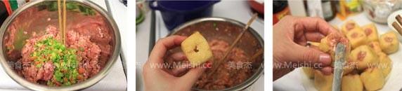 油豆腐塞肉的做法图解