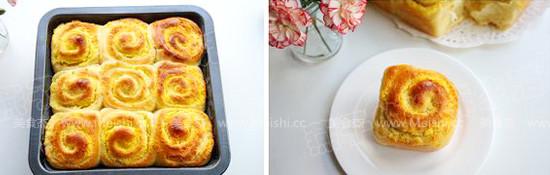 椰蓉面包卷怎么煮