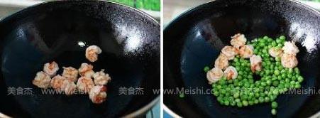 青豆炒虾仁的简单做法