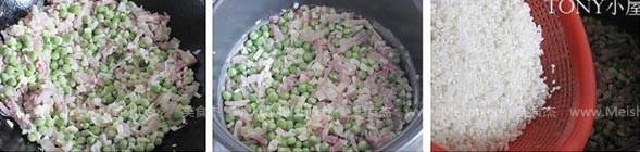 豌豆饭的简单做法