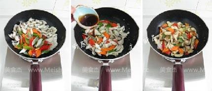 滑炒黑鱼片的简单做法