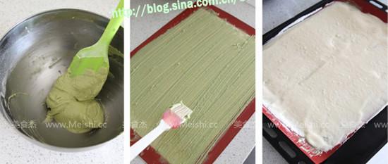 草莓奶油竹子蛋糕的做法图解