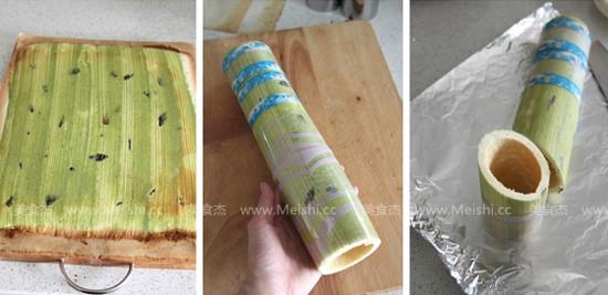 草莓奶油竹子蛋糕的家常做法