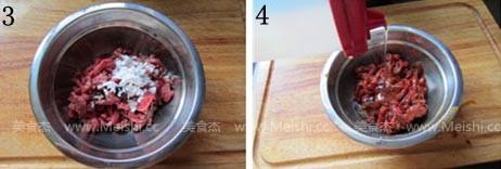牛肉炒蒜苔的做法图解