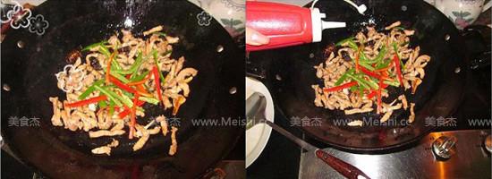尖椒炒肉丝怎么吃