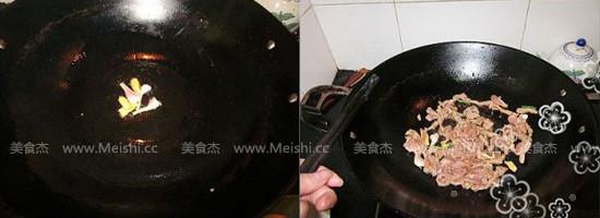 尖椒炒肉丝的简单做法