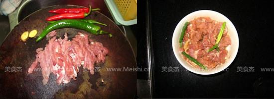 尖椒炒肉丝的做法大全
