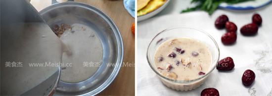 核桃红枣米糊的简单做法