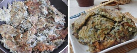 紫藤花炒蛋的家常做法
